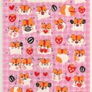 kawaii Kamio Japan welcome to mogumogu world sticker sheet