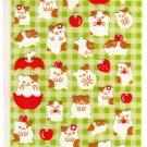 kawaii Mind Wave cute hamsters sticker sheet