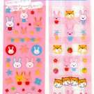 kawaii Basel rabbits and hamsters sticker sheet