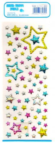 Mind Wave stars sticker sheet