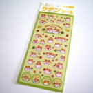 kawaii Crux hamu chan's world since 1997 sticker sheet