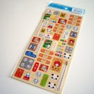 kawaii Kamio Japan panda aid kit sticker sheet