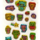 kawaii Crux bear friends sticker sheet