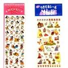Sun-Star and Gakken TH small sticker sheet lot