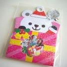 kawaii Mind Wave polar bear christmas present sticker sack