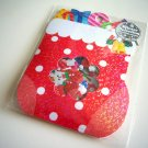 kawaii Mind Wave christmas red stocking sticker sack