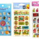 kawaii Mind Wave, Disney and sweets sticker sheet lot