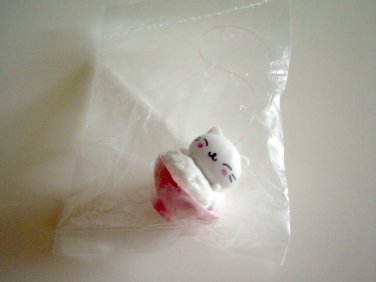 kawaii San-x nyanko rice bowl charm A
