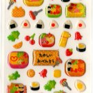 cute Mind Wave obento sticker sheet
