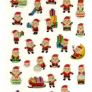 kawaii Cubix santa xmas seal sticker sheet
