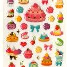 kawaii Mind Wave desserts sticker sheet