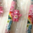 kawaii hearts Care Bears pen with charm
