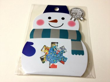 kawaii Mind Wave Snowman sticker sack