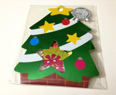 kawaii Mind Wave Christmas Tree sticker sack