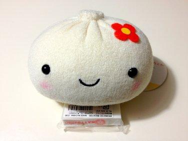 kawaii Hasebe & St. Works Chuka Manju Kun flower bun plush USED with tag