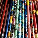 Disney Sakamoto Crux Nintendo Morinaga HB 6B B 2B wooden pencils Crux