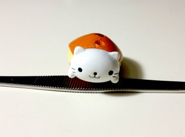 San-x Nyanko dorayaki charm DAMAGED USED