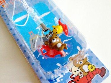 San-x Rilakkuma Kiiroitori Ise Ebi Spiny Lobster Gotochi Regional Charm Strap 2006