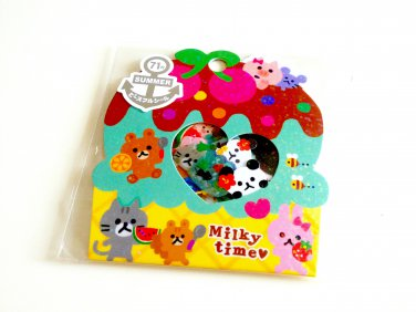 kawaii Mind Wave Milky Time sticker sack