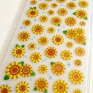 Mind Wave sunflowers sticker sheet