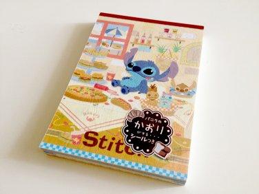 kawaii Sun-star Stitch memo pad