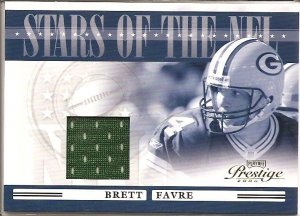 2006 Prestige Brett Favre Stars of the NFL Jersey