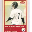 2004 Fleer Tradition Ben Roesthlisberger Rookie