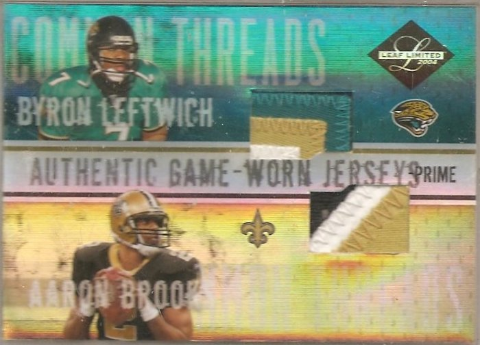 2004 Leaf Limited Leftwhich/Brooks Dual Patch