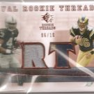 2007 SP Threads Brian Leonard/Michael Bush Dual Patch
