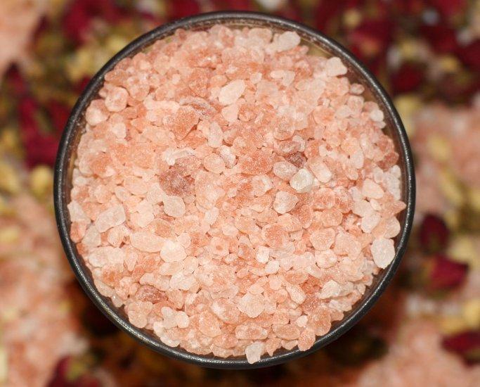 100% Natural Pink Himalayan Bath Salts and Soak, 11.5 oz.