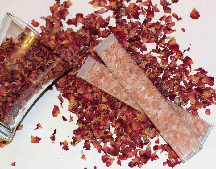 Merlot Wine Pomegranate Pink Himalayan Salt and Soak