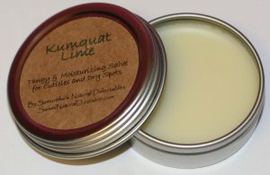Kumquat Lime Salve for Dry Skin and Cuticles