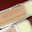 Juicy Pineapple Colada Shea Butter & Olive Oil Lip Butter in Slide Tin