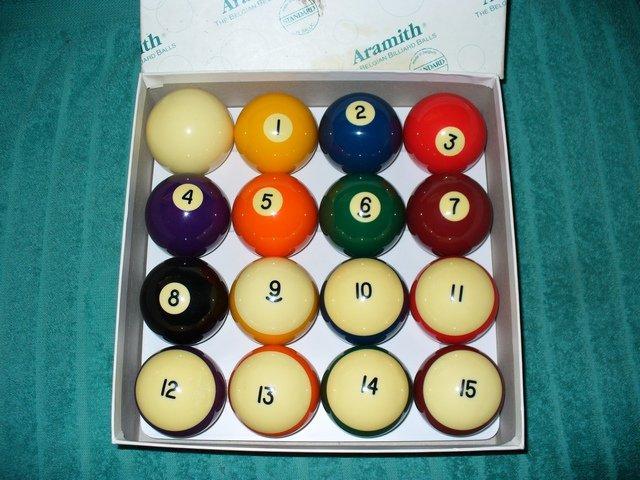 Billiard Balls Aramith