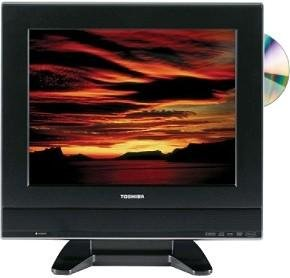 Toshiba 15DLV77 15-inch LCD TV w/ Built-in DVD Player