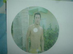 One Photo Cd Clock