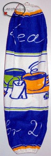 Plastic bag holder - Grocery bag recycler - Large - Tea for 2