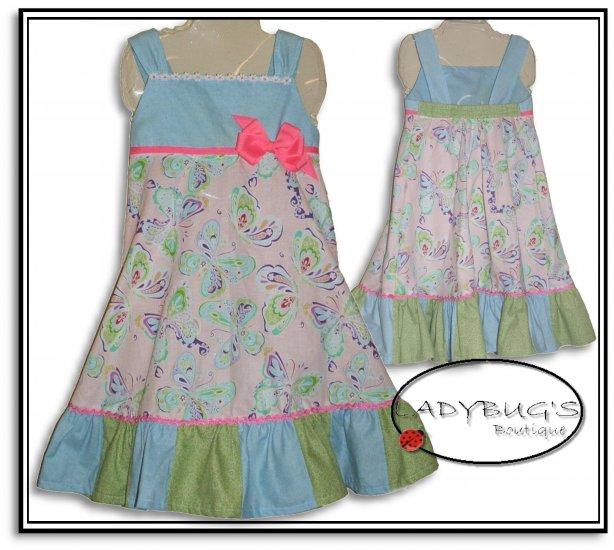 Custom Boutique dress * Butterflies 5