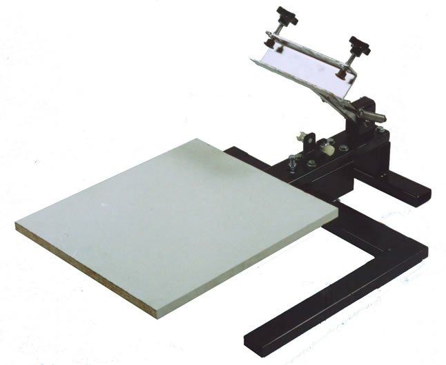 1 COLOR 1 STATION MANUAL SCREEN PRINTING PRESS
