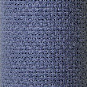 Charles Craft Classic Reserve Gold Aida Cloth ~ 14 Count 15 X 18 ~ Delft Blue