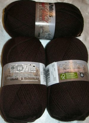 Patons Classic Wool Merino Worsted 1 Skein ~ Taupe 227