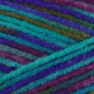 Caron Natura Prints Rainbow Dreams ~ Jet Stream 598