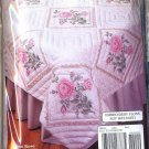 Tobin Design Works Quilt Blocks to Embroider ~ Moss Rose 288007