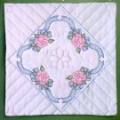Tobin Design Works Quilt Blocks to Embroider ~ Ribbon Rose 288033