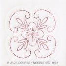 Jack Dempsey White Quilt Blocks ~ XX Floral Design 732-5