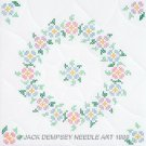 Jack Dempsey White Quilt Blocks - Spring Blossoms 732-259