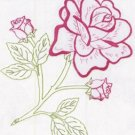 Jack Dempsey White Quilt Blocks ~ Satin Rose 732-434