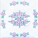 Jack Dempsey White Quilt Blocks ~ Forget Me Knots 732-317