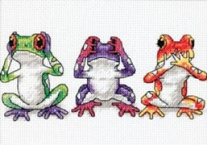 Dimensions Sunset Jiffy ~ Tree Frog Trio CCS 16758