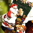 Bucilla Felt Applique Stocking Kit ~ Christmas Cookies 86106